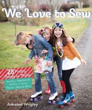We Love to Sew : 28 Fun Projects Paperback Sewing Book